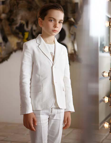 quis quis boys white suit 2014