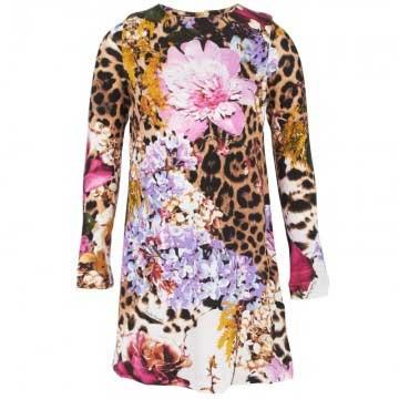 roberto cavalli floral jersey dress