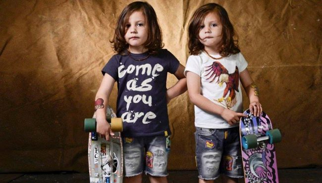 rock your baby kids skater fashion