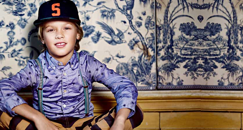Shop Designer Boys Clothing