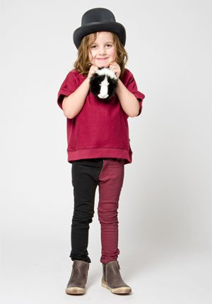 shampoodle fall winter 2013 boys red black clothes