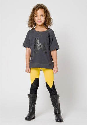 shampoodle fall winter 2013 girls yellow grey clothes