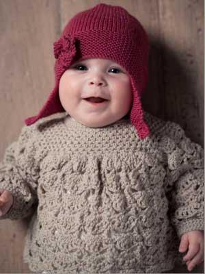 BRIT CHIC SIGNATURE Crochet Dress