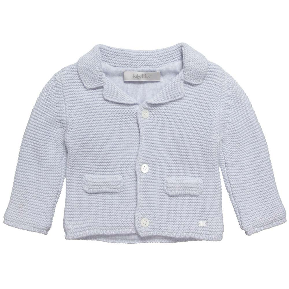 baby dior blue knit sweater