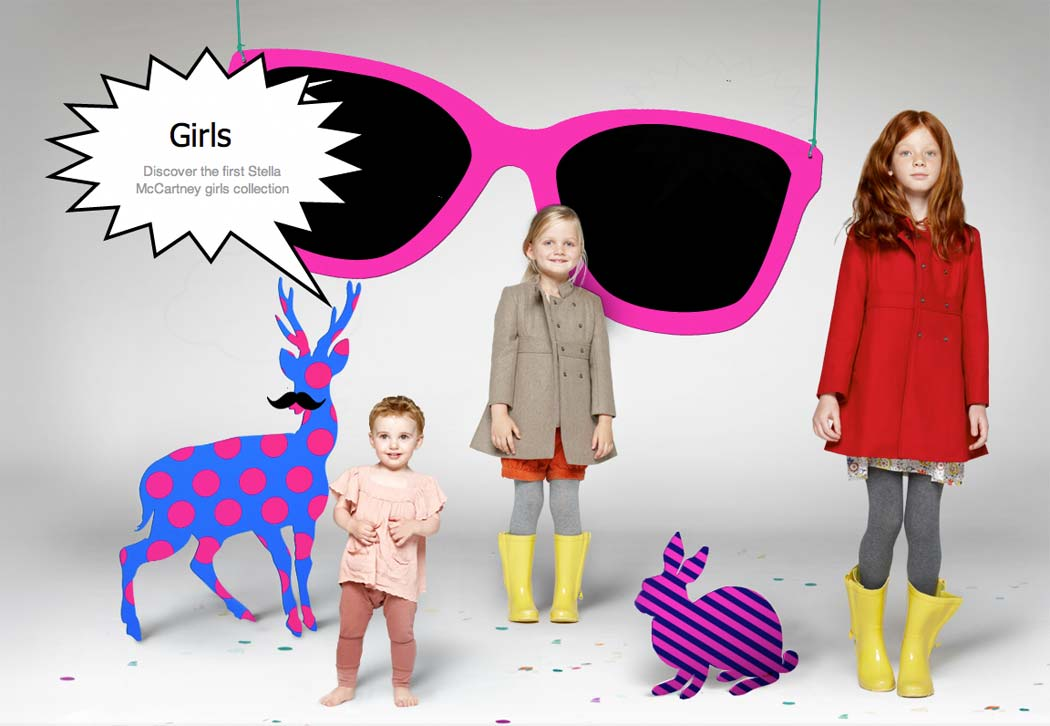 stella mccartney girls clothes