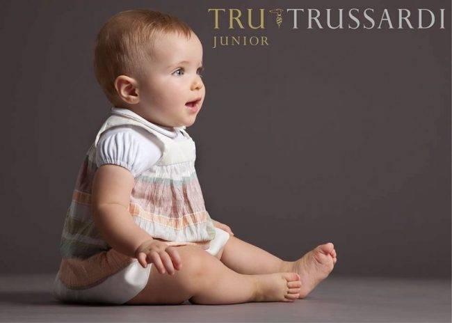 tru trussardi junior baby clothes