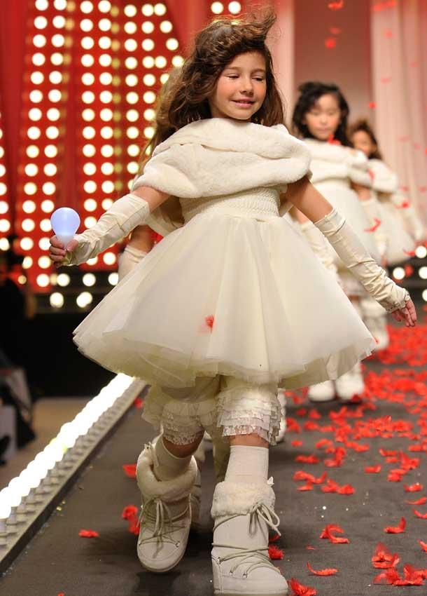 twin set girls fw1415 Simona Barbieri dress