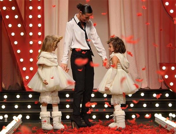 twin set girls fw1415 Simona Barbieri