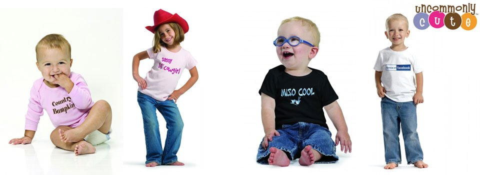 uncommonly cute kids tshirts