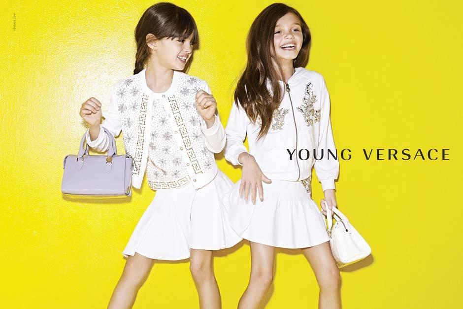 young versace girls fashion