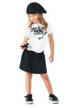 yporque kids fashion spring summer 2013 girls music shirt