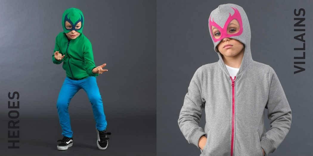 yporque kids heroes villains collection