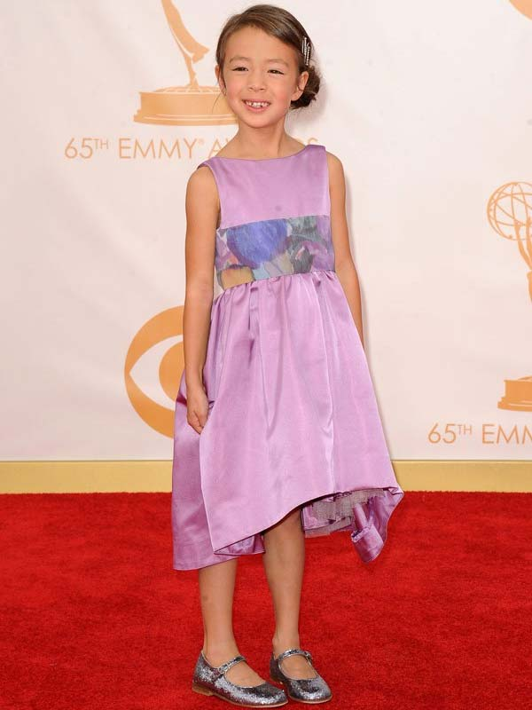 Aubrey Anderson Emmons Emmy Award Red Carpet 2013