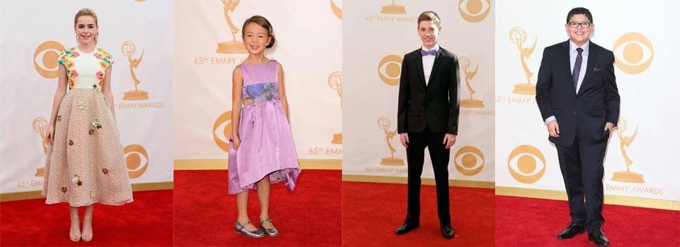 Celebrity kids fashion emmy awards