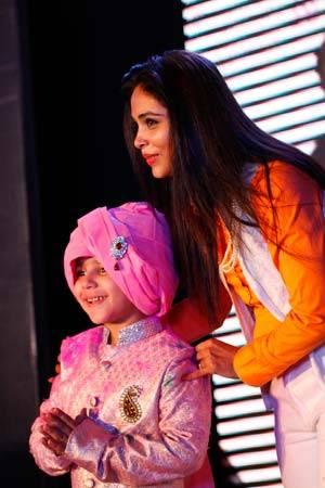 Designer Kirti Rathore with Showstopper Sanyam Wantoo