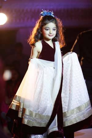 Krishika Bansal in Designer Sumit Das Guptas Outfit