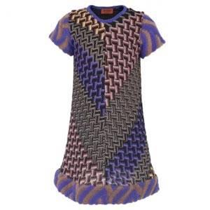 Missoni Purple Multi Print Dress