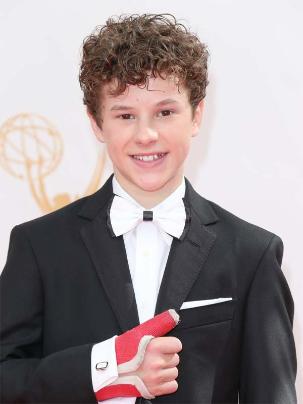 Nolan Gould Emmy Awards Red Carpet 2013