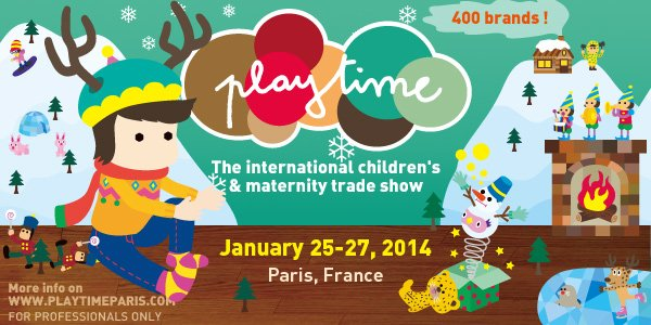 Playtime Paris January 2014