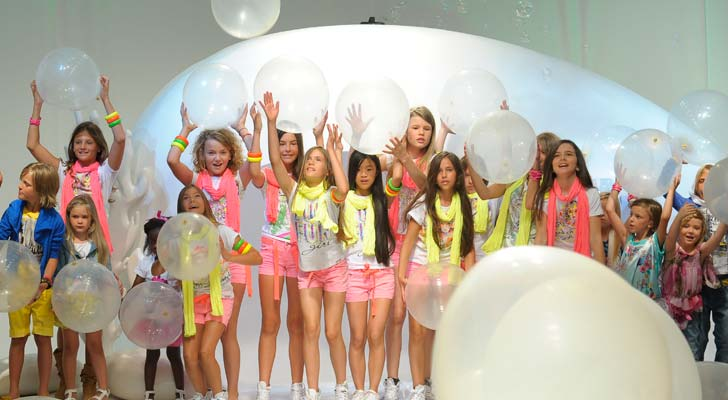 Pitti Bimbo Fun Fun Kids Fashion Show