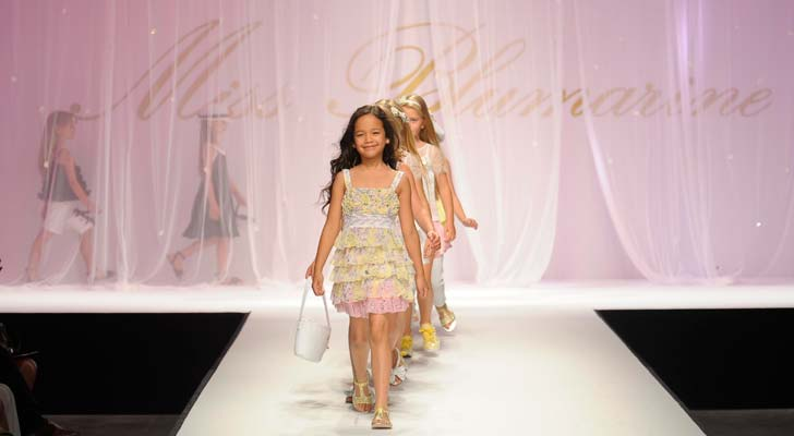 Miss Blumarine Pitti Bimbo Kids Fashion Show