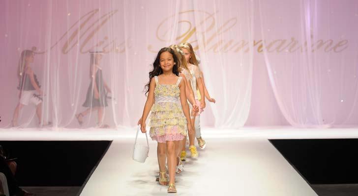 Miss Blumarine Pitti Bimbo Kids Fashion Show