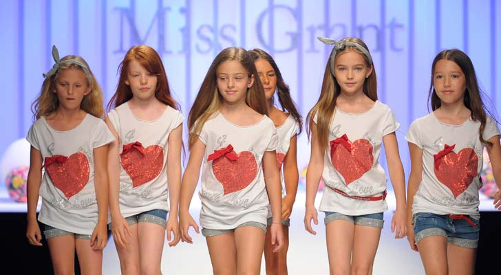 Pitti Bimbo 75 Miss Grant Kids Fashion Show