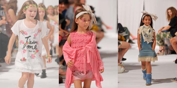 Pitti Bimbo TwinSet Girl Fashion Show