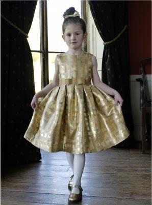 Rachel Riley Damask Party Dress