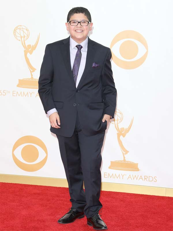 Rico Rodriguez Emmy Awards Red Carpet 2013