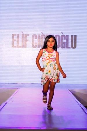 Swayam Bhatia walking for Designer Elif Cigizoglu