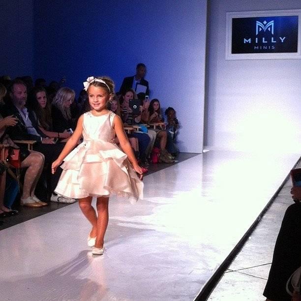Milly Minis Girls Fashion SHow