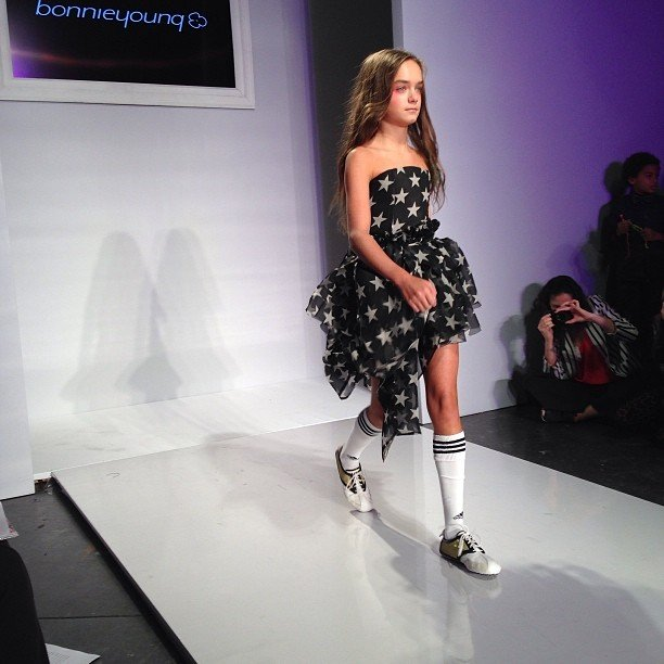 Bonnie Young Girls Fashion Show