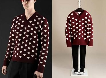 burberry daddy boy heart trend
