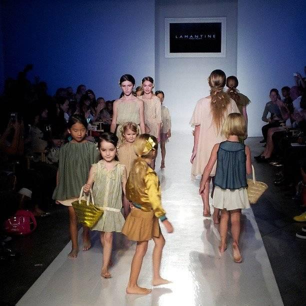 Lamatine Petite Kids Fashion Show