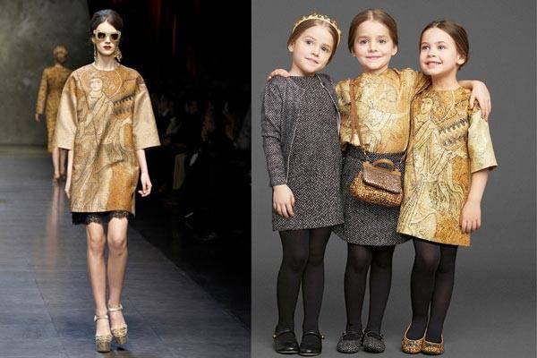 dolce gabbana mini mi girls fashion