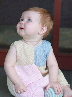 fournier girls handknit summer dress 2014