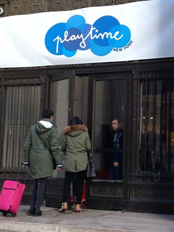 playtime new york wallstreet march 2014