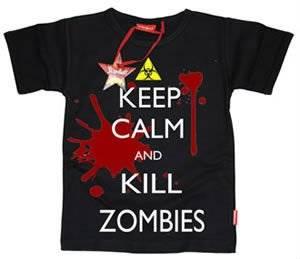 stardust kids t-shirt kill zombies