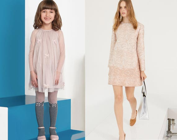 stella mccartney mini me pretty pink girls dress