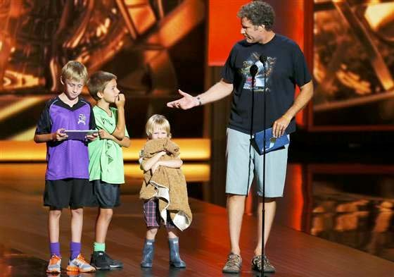 will ferrel sons emmy awards 2013