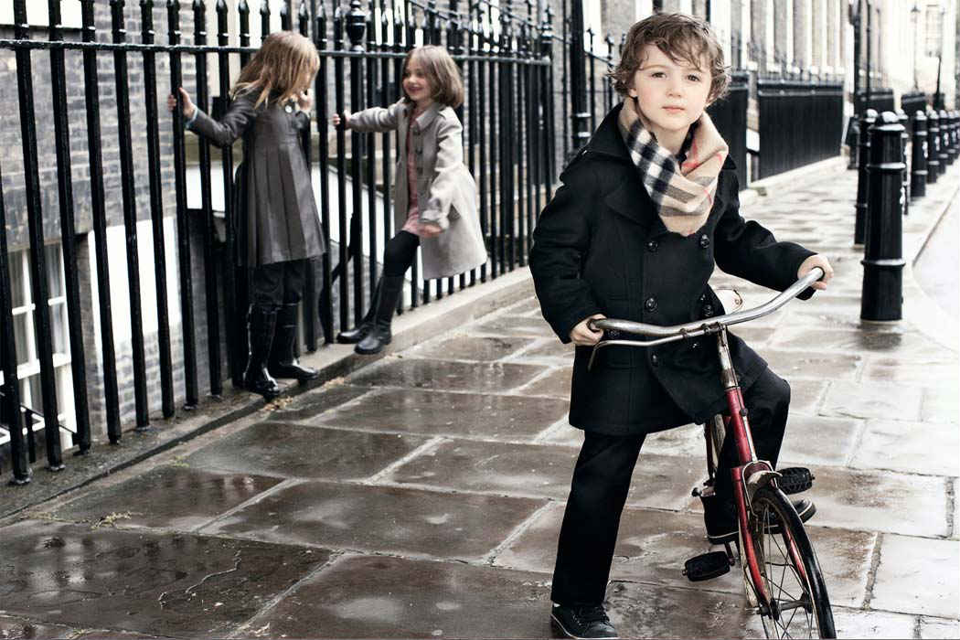 Burberry Childrenwear Designer Clothes from Italy