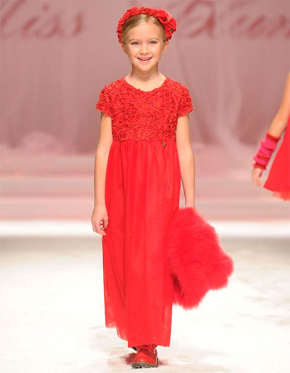 miss blumarine girl holiday 2014 dress