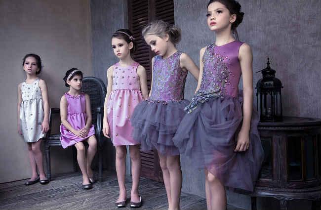 Mischa Aoki Girls The Sunset at Petite Trianon Dress