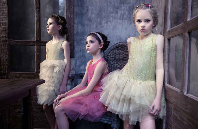 Mischka Aoki Girls Dress SS14