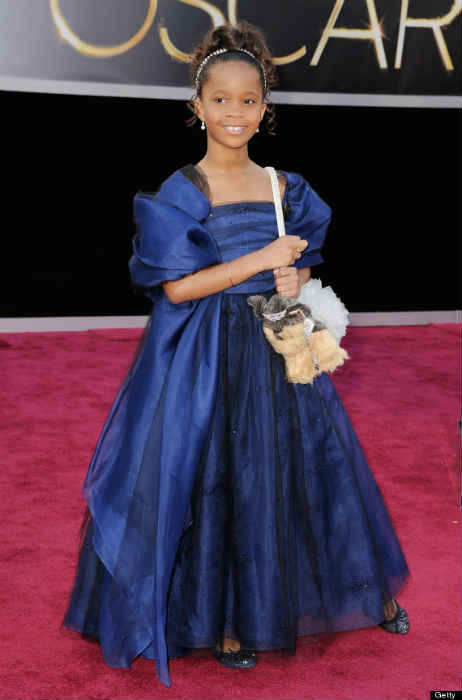 QUVENZHANE-WALLIS OSCAR DRESS 2013