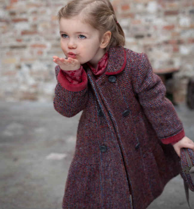 TROIZENFANTS Girls Coat
