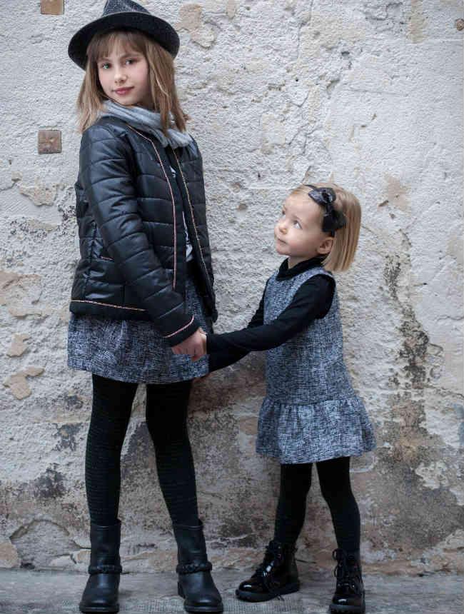 TROIZENFANTS Girls Parisian Outfit