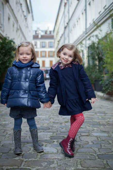 TROIZENFANTS girls parisian style