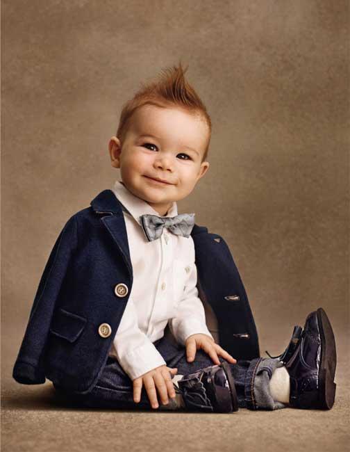 Armani Junior Baby Boys Suit